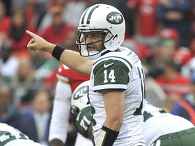 Watch: Ryan Fitzpatrick throws fourth interception of the day