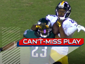 Can't-Miss Play: Rodney McLeod rips ball from receiver for interception