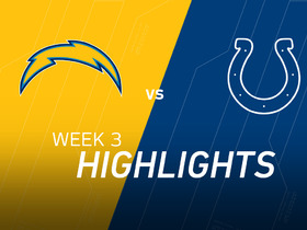 Watch: Chargers vs. Colts highlights