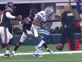 Watch: Terrance Williams fumbles after 47-yard gain, Bears recover
