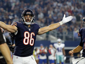 Watch: Zach Miller snags a 2-yard TD from Brian Hoyer
