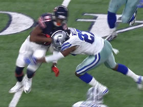 Watch: Tyrone Crawford recovers Cameron Meredith's fumble