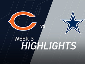 Watch: Bears vs. Cowboys highlights