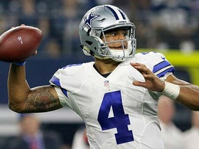 Watch: Billick: Prescott is Russell Wilson-esque