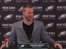 Watch: Press Pass: Carson Wentz