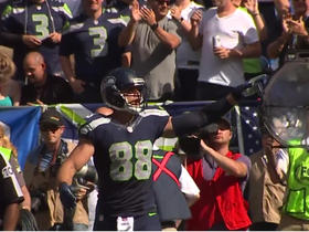 Watch: Locker Room Sound vs 49ers: Jimmy Graham
