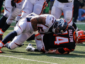 Watch: Broncos defense holds strong