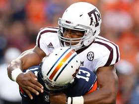 Watch: Myles Garrett highlights vs. Auburn and UCLA