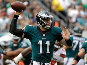 Watch: Wentz receives high-praise from Doug Pederson, Joe Biden
