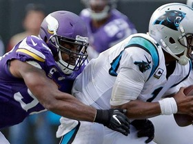 Watch: How the Vikings' defense handled Cam Newton in Week 3
