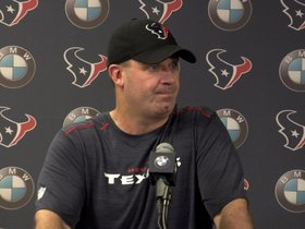 Watch: O'Brien on Titans, injury update, more