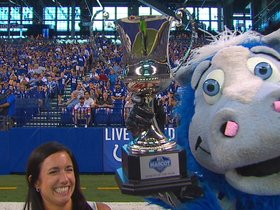 Watch: Colts' Blue Recognized For Mascot Of The Year