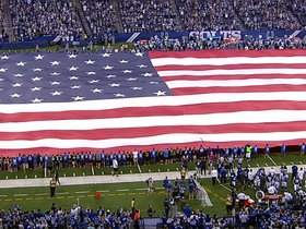 Watch: National Anthem - Chargers vs. Colts