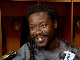 Watch: Eddie Lacy: Running game boosts confidence