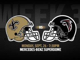 Watch: Pregame Report: Saints vs. Falcons