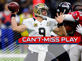 Watch: Can't-Miss Play: Brees finds Brandon Coleman on tricky flea flicker