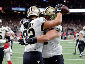 Watch: Drew Brees connects with Coby Fleener for 2-yard TD