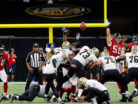 Wil Lutz nails 57-yard field goal