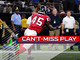Watch: Can't-Miss Play: Deion Jones returns interception 90 yards for TD