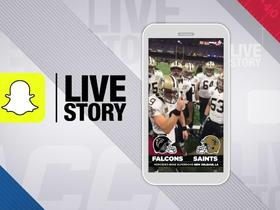 Watch: Snapchat Live Story: Falcons vs. Saints Week 3