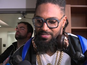 Watch: Cam Jordan Saints vs Falcons Postgame Interview