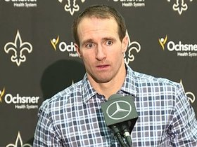 Watch: Drew Brees' Falcons Postgame Press Conference