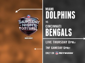 Watch: DDFP:  Time Machine Football:  Dolphins-Bengals