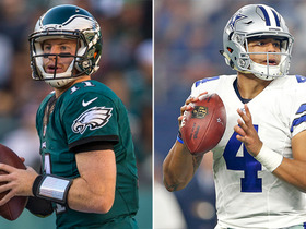 Watch: DDFP: Dak vs. Wentz, Broncos' D vs. Vikings' D & Cardinals, Panthers trouble