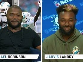Watch: Dolphins WR Jarvis Landry Previews TNF Game
