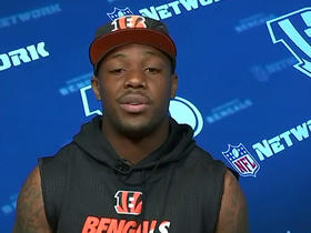 Watch: Jeremy Hill: Took it upon myself to get run game going