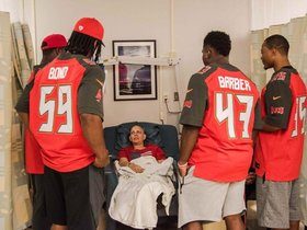 Watch: Watch: Rookies Visit Moffitt Cancer Center