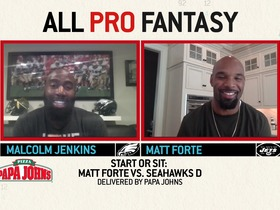 Watch: All Pro Fantasy with Malcolm Jenkins and Matt Forte