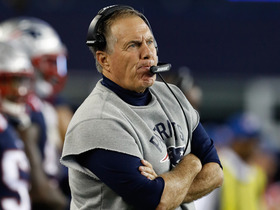 Watch: 'Sound FX': Belichick on the field