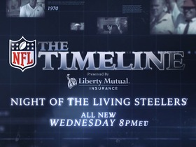 Watch: Watch The Timeline: Night of the Living Steelers Wednesday 8pmET