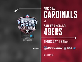 Watch: Watch Cardinals vs. 49ers on Thursday at 8pmET