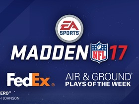 Watch: 'Madden NFL 17': Week 4 FedEx Air and Ground Players of the Week