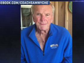 Watch: Sam Wyche thanks fans for supporting his recovery