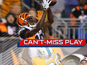 Watch: Can't-Miss Play: A.J. Green leaps for 51-yard catch over defender