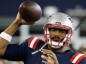 Brissett's thumb not affecting grip, Garoppolo reveals less