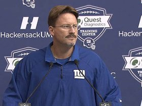 Watch: Coach McAdoo on matchup with Vikings
