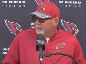 Watch: Arians: 'Big Game, Division Game'