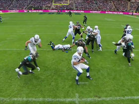 Jaguars sack Andrew Luck for a loss of 10 yards