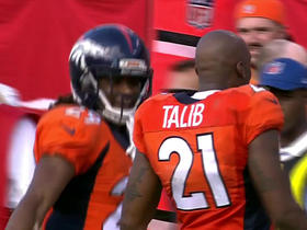 Watch: Aqib Talib intercepts Jameis Winston for second time