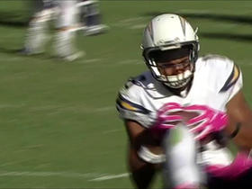 Tyrell Williams makes an impressive sliding reception