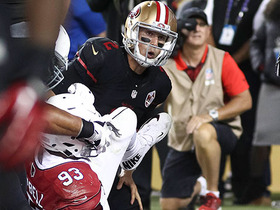 Blaine Gabbert sacked in end zone for safety