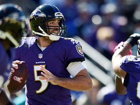 Joe Flacco hits Crockett Gillmore for 7-yard TD