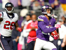 Watch: Marcus Sherels 79-yard punt return touchdown.