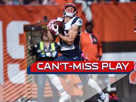 Can't-Miss Play: Brady slings ridiculous deep pass to Hogan