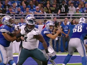 Watch: Matthew Stafford fumbles deep in Lions territory, Eagles recover