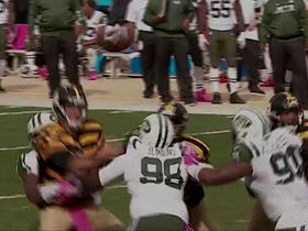 Watch: Ben Roethlisberger fumbles after sack by Leonard Williams; Sheldon Richardson recovers